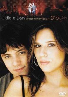 DVD Cídia e Dan - Duetos Românticos