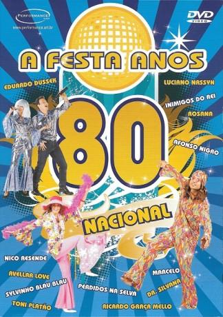DVD A Festa Anos 80