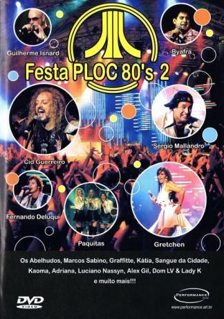 DVD Festa Ploc 80's 2