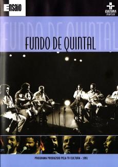 DVD Fundo de Quintal - Série Ensaio